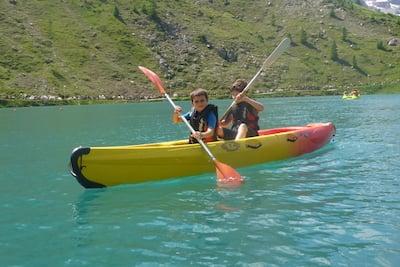 Kayaking in Morzine