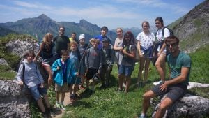 School trips to the alps
