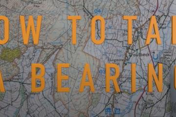 How to take a bearing