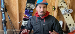 How dose ski touring kit differ?